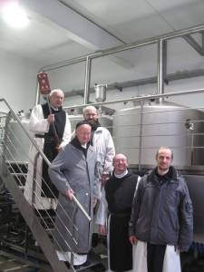 Engelszell brewing monks
