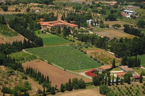 VITORCHIANO monastery and gardens