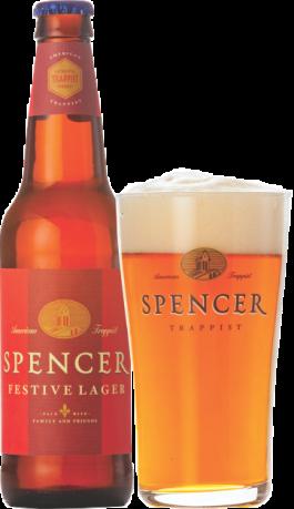 Spencer Trappist Festiver Lager pint