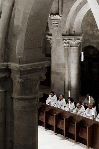 pannonhalma mass monks