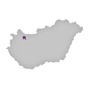 Pannonhalmi Hungary map