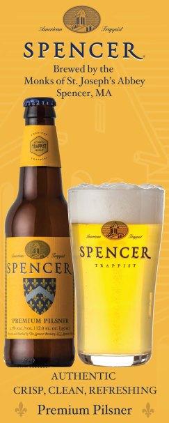 Spencer Premium Pilsner vertical banner