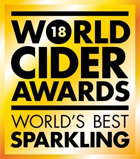 Worlds best cider award